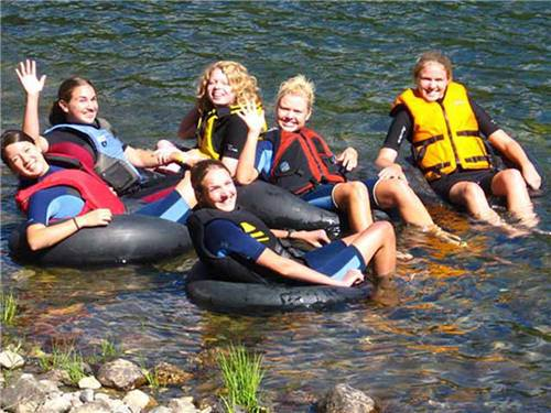 KING PHILLIPS CAMPGROUND at LAKE GEORGE, NY