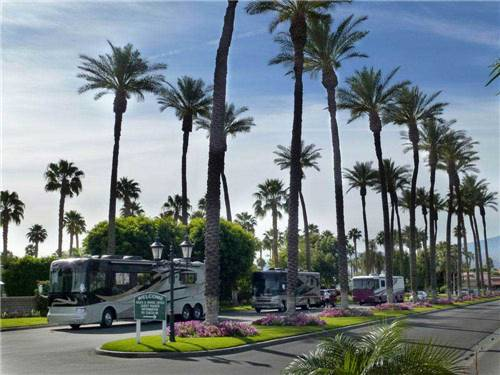 Rv Parks In Palm Springs California Palm Springs