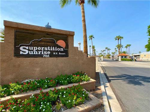 SUPERSTITION SUNRISE RV RESORT at APACHE JUNCTION, AZ