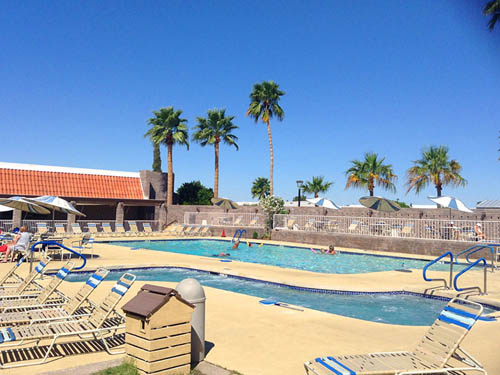 SUN VISTA RV RESORT at YUMA, AZ