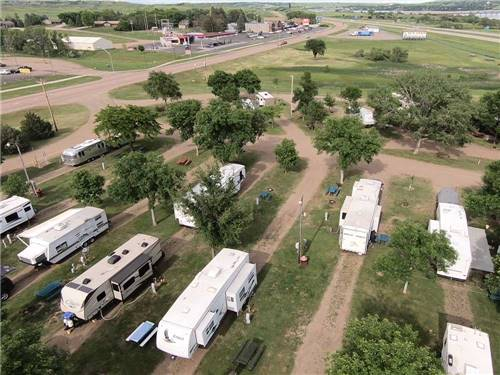 OASIS CAMPGROUND at CHAMBERLAIN, SD