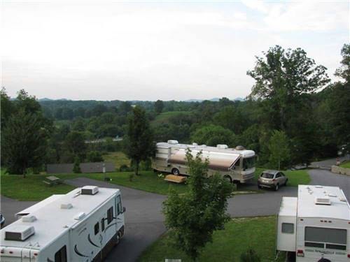 ASHEVILLE BEAR CREEK RV PARK at ASHEVILLE, NC