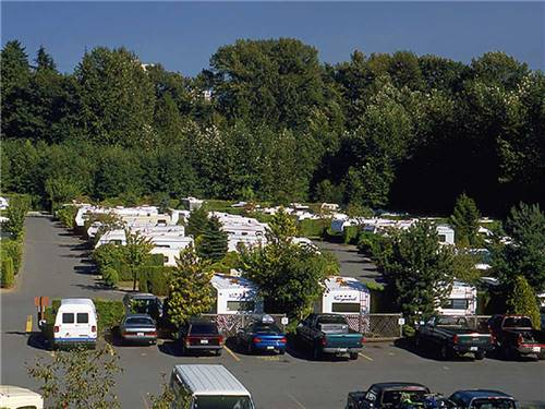 BURNABY CARIBOO RV PARK AND CAMPGROUND at BURNABY, BC
