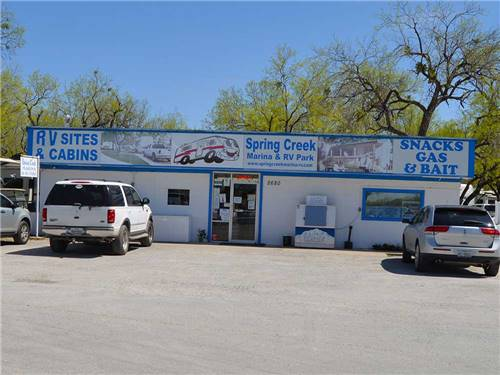 SPRING CREEK MARINA & RV PARK at SAN ANGELO, TX