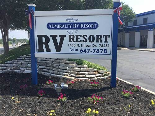 ADMIRALTY RV RESORT at SAN ANTONIO, TX
