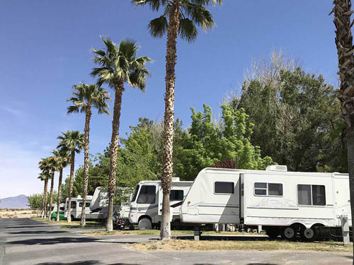 PAHRUMP OASIS RV RESORT at PAHRUMP, NV
