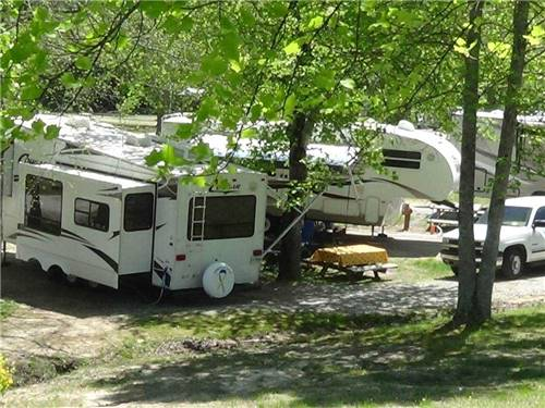 LEISURE ACRES CAMPGROUND at CLEVELAND, GA