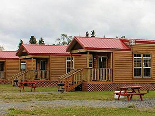 ALASKAN ANGLER RV RESORT & CABINS at NINILCHIK, AK