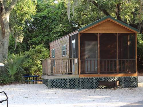RIVERS END CAMPGROUND at TYBEE ISLAND, GA