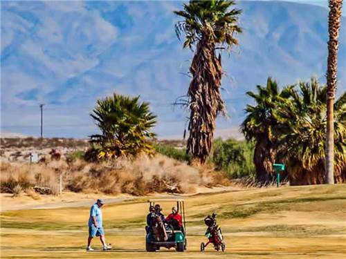 TWENTYNINE PALMS RESORT: RV PARK-COTTAGES-GOLF at TWENTYNINE PALMS, CA