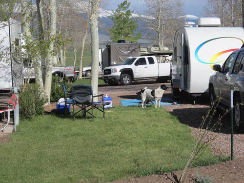 GRAPE CREEK RV PARK CAMPGROUND & CABINS at WESTCLIFFE, CO