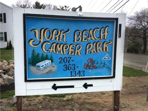 York Beach Camper Park
