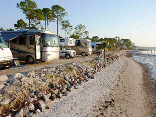 HO HUM RV PARK at CARRABELLE, FL