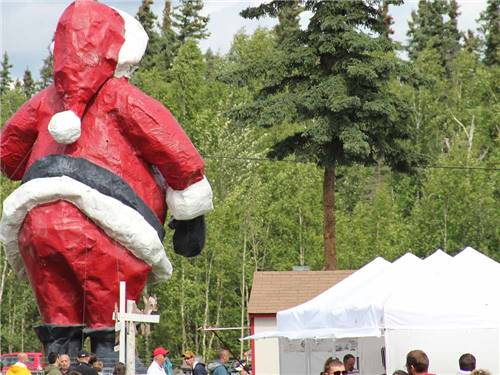 SANTA CLAUS HOUSE at NORTH POLE, AK