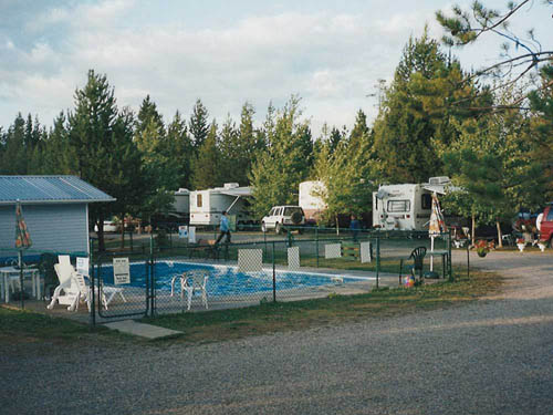 BEE LAZEE RV PARK & CAMPGROUND at PRINCE GEORGE, BC