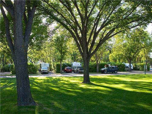 GORDON HOWE CAMPGROUND at SASKATOON, SK