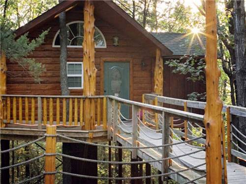 BRANSON TREE HOUSE ADVENTURES & RV PARK at BRANSON, MO