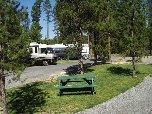 BIG PINES RV PARK at CRESCENT, OR