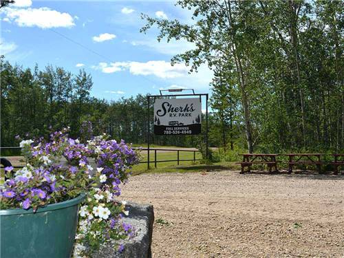 SHERKS RV PARK LTD at VALLEYVIEW, AB