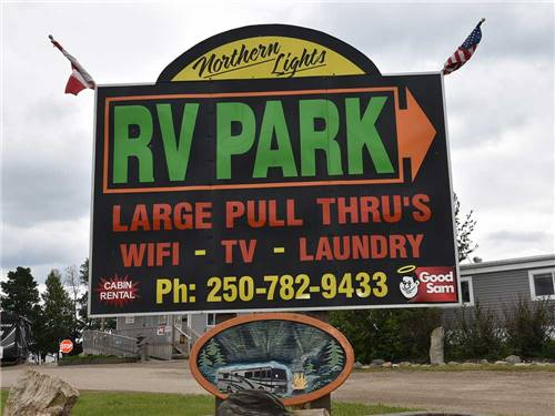 NORTHERN LIGHTS RV PARK at DAWSON CREEK, BC