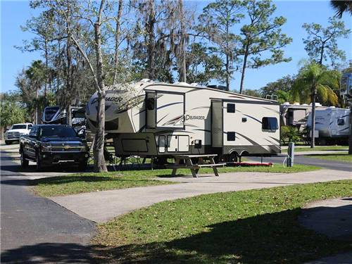 TROPICAL PALMS CAREFREE RV RESORT at KISSIMMEE, FL