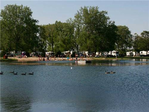 LEHMANS LAKESIDE RV RESORT at MARENGO, IL
