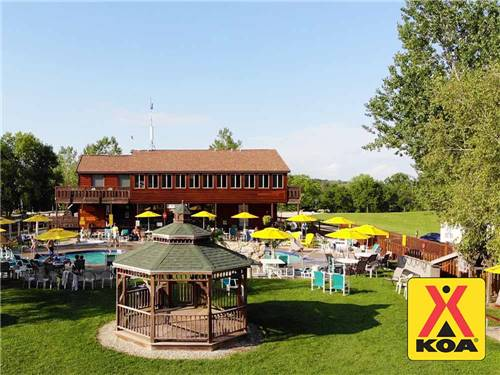 MILTON KOA (FORMERLY HIDDEN VALLEY RV RESORT & CAMPGROUND) at MILTON, WI