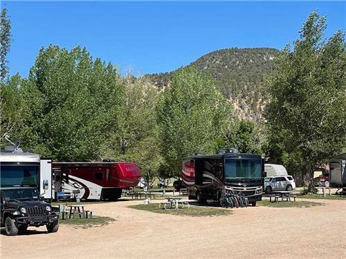 BAUERS CANYON RANCH RV PARK at GLENDALE, UT