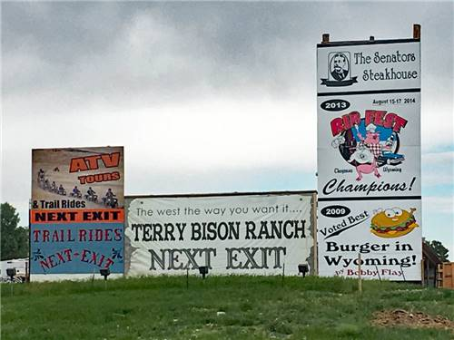 TERRY BISON RANCH RV PARK at CHEYENNE, WY
