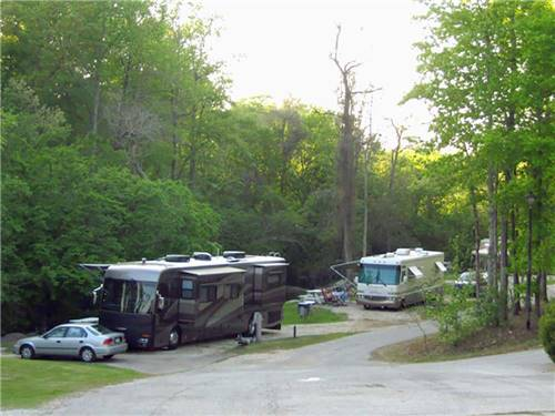 AUBURN RV PARK AT LEISURE TIME CAMPGROUND at AUBURN, AL