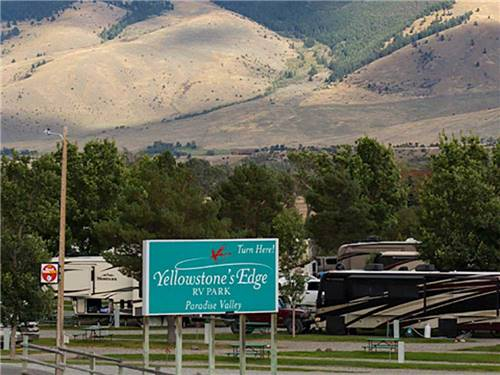 YELLOWSTONE'S EDGE RV PARK at EMIGRANT, MT