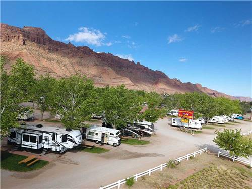 SPANISH TRAIL RV PARK at MOAB, UT