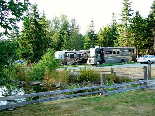 ELWHA DAM RV PARK at PORT ANGELES, WA