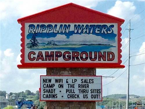 Ripplin Waters Campground Amp Cabin Rental Sevierville