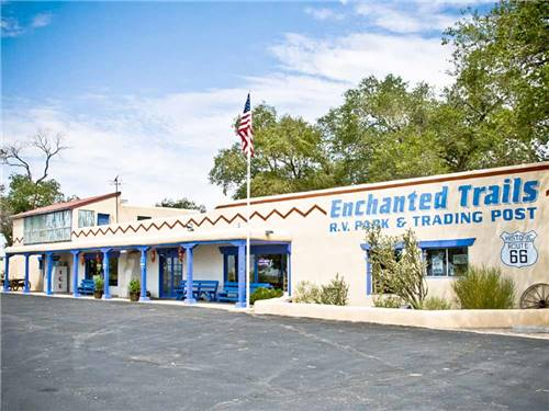 ENCHANTED TRAILS RV PARK & TRADING POST at ALBUQUERQUE, NM
