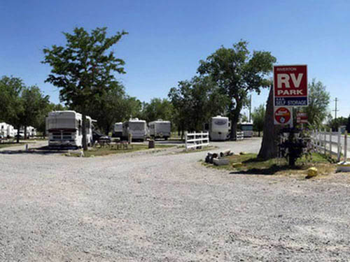 WIND RIVER RV PARK at RIVERTON, WY
