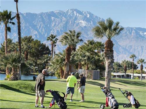 HIDDEN SANDS GOLF & RACQUET CLUB at DESERT HOT SPRINGS, CA