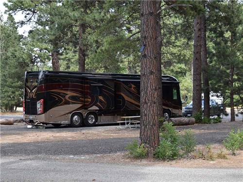 WHISPERING PINES RV PARK at CLE ELUM, WA