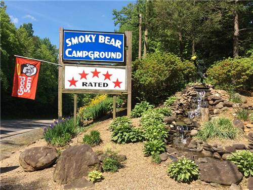 SMOKY BEAR CAMPGROUND AND RV PARK at GATLINBURG, TN