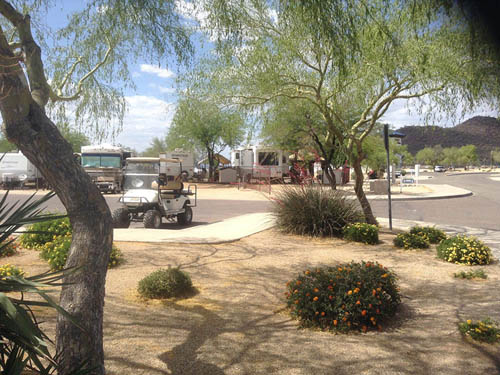 PLEASANT HARBOR MARINA & RV RESORT at PEORIA, AZ
