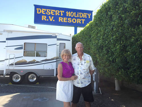 DESERT HOLIDAY RV RESORT at YUMA, AZ