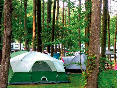 LAKE RUDOLPH CAMPGROUND & RV RESORT at SANTA CLAUS, IN
