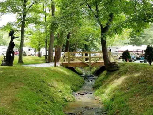 CREEKWOOD FARM RV PARK at WAYNESVILLE, NC