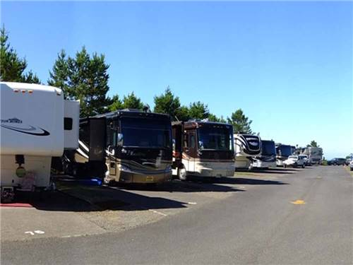 PREMIER RV RESORTS - LINCOLN CITY at LINCOLN CITY, OR