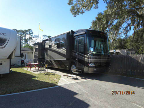HARRIS VILLAGE & ADULT RV PARK LLC at ORMOND BEACH, FL