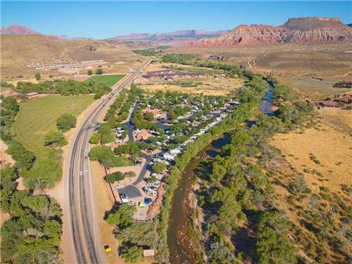 ZION RIVER RESORT RV PARK & CAMPGROUND at VIRGIN, UT