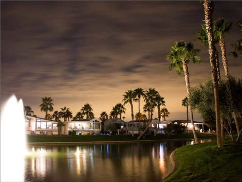 PALM CREEK GOLF & RV RESORT at CASA GRANDE, AZ