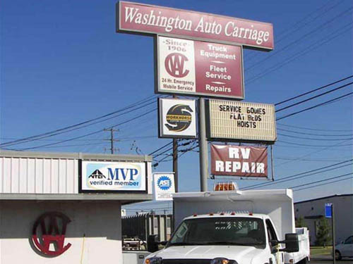 WASHINGTON AUTO CARRIAGE SERVICE & REPAIR at SPOKANE, WA