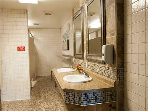 Immaculate/Modern Restrooms