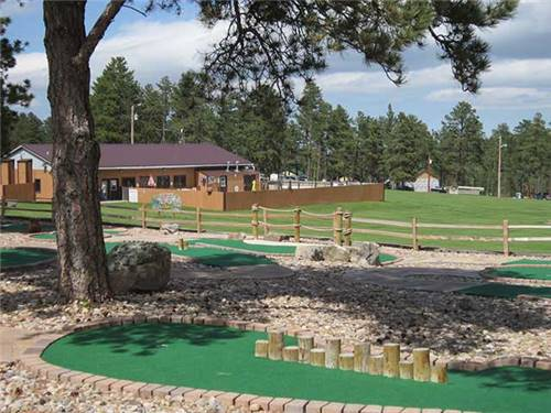 New MINI GOLF course! FUN for all!